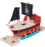 Image de Piratenschip rails Bigjigs