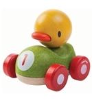 Afbeeldingen van Eend racer auto Plan Toys
