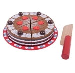 Picture of Speel-chocoladetaart hout snijbaar Bigjigs
