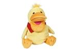 Picture of Goki Handpop poppenkastpop pluche Eend Elisa