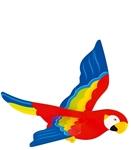 Afbeeldingen van Zweeffiguur papagaai  spanwijdte 50 cm