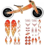 Picture of Wishbonebike stickers flames
