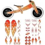Bild von Wishbonebike stickers flames