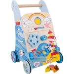 Picture of Houten baby activity loopwagen Zee Bigjigs
