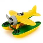 Afbeeldingen van Watervliegtuig gele vleugels - recycled plastic - Greentoys