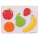 Afbeeldingen van Puzzel grote stukken 12m+ Fruit Bigjigs