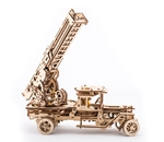 Picture of UGears Brandweertruck met ladder