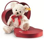 Afbeeldingen van Teddybeer Sweetheart in hartjesdoos 22 cm Steiff