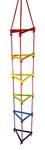 Picture of Klimrek touwladder driehoek kleurrijk Hess
