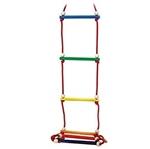 Picture of Hess Touwladder 6 sporten vrolijke kleuren