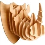 Image de 3d puzzel neushoorn hoofd Eureka