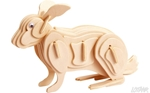 Image de 3d puzzel konijn Eureka