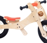 Bild von Trybike accessoires zadelhoes kinbeschermer oranje