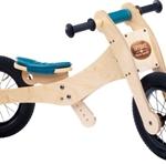 Picture of Trybike, zadelhoes en kinbeschermer blauw voor loopfiets hout