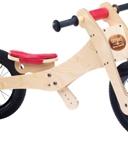 Picture of Trybike, zadelhoes en kinbeschermer rood voor loopfiets hout