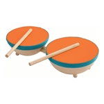 Picture of Plantoys Dubbele drum