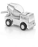 Picture of Spaarpot Cementwagen Verzilverd gelakt