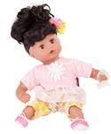 Afbeeldingen van Gotz pop Muffin zwart haar en slaapogen