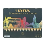 Picture of Lyra Rembrandt Polycolor 24 kleuren in blik