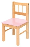 Afbeeldingen van Kinderstoeltje Bigjigs hout  Roze