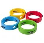 Afbeeldingen van Kleurige degelijke tamboerijn Bigjigs