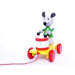 Picture of Trekfiguur muis met een trommel
