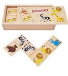 Afbeeldingen van Domino wilde dieren