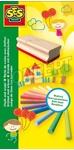 Afbeeldingen van SES Kleurkrijtjes met bordenwisser