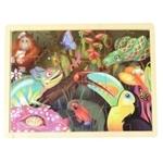 Picture of Puzzel regenwoud in frame 24 stukjes
