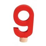 Image de Verjaardagsring decoratie steker cijfer 9 Grimm's