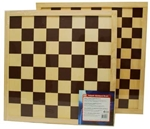 Picture of Schaakbord dambord bruin 40 x 40 cm