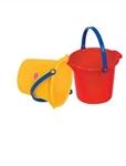 Image de Strand - zandemmertje geel of rood