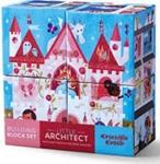 Image de 4 blokken puzzel Poppenhuizen Prinses
