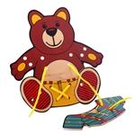 Picture of Rijg- en strikpuzzel Beertje - Harmony Toys