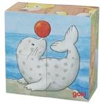 Image de Blokkenpuzzel jonge dieren Goki