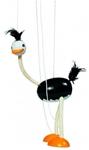 Picture of Marionette Struisvogel Hout GOKI 38 cm