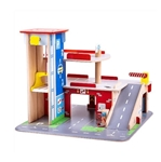 Picture of Auto parkeer- en speel garage met echte lift