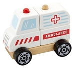 Afbeeldingen van Ambulance blokken-stapelpuzzel