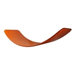 Afbeeldingen van Das Brett Wiebelbord Balansbord geolied rood - oranje