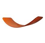 Image de Das Brett Wiebelbord Balansbord geolied rood - oranje