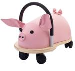 Afbeeldingen van Wheelybug small varken loopwagen met zwenkwielen 1+
