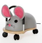 Afbeeldingen van Wheelybug large muis loopwagen met zwenkwielen 3+