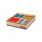 Picture of Kapla, doos, 100 plankjes, 8 kleuren Octicolor