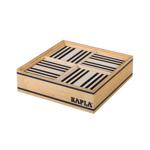 Picture of Kapla, doos, 100 plankjes, zwart wit