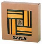 Picture of Kapla, boekje + 40  gele en groene plankjes