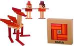 Picture of Kapla, boekje + 40 rode en oranje plankjes