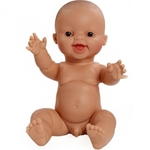 Bild von Babypop Gordi blank jongetje lachend 34 cm