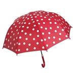 Image de Paraplu Rood met Witte stippen