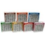 Image de Bingokaarten pak, 7 kleuren