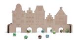 Bild von Knikkerspel huisjes met knikkers BS Toys Buitenspeel
